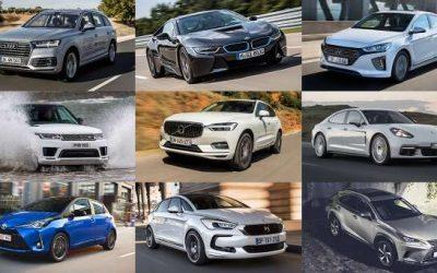 Marques et modèles des voitures populaires électriques et hybrides rechargeables