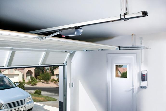 Systeme duo vision Sommer - motorisation garage